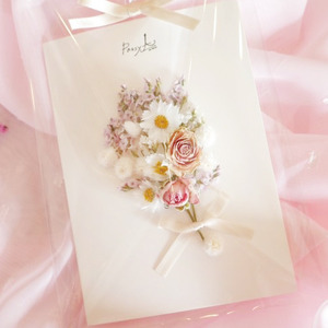 드라이플라워 카드 (꽃의천사)
